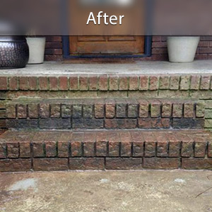 Sinking stairs repaired with PolyLevel® Burlington