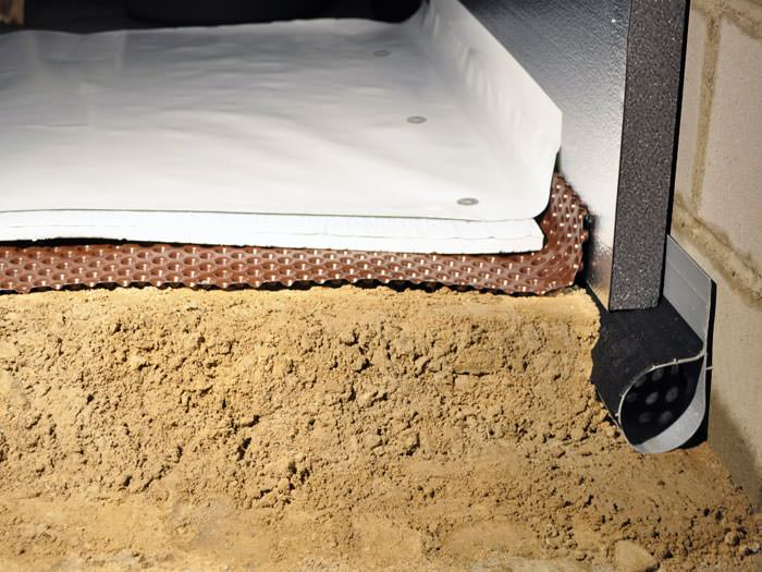 Crawl space insulation with terrablock in keene for Crawl space insulation cost estimator