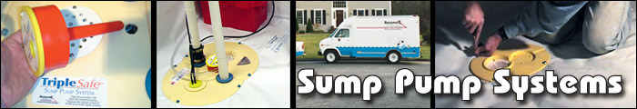 Sump Pump Installation in VT and NH, including Burlington, Laconia & Keene.