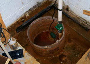 Extreme clogging and rust in a Lebanon sump pump system