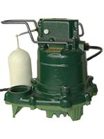 cast-iron zoeller sump pump systems available in Middlebury, Vermont and New Hampshire