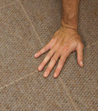 Carpeted Floor Tiles installed in Brattleboro, Vermont and New Hampshire