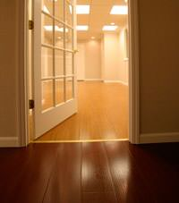 Basement Wood Flooring installed in Brattleboro, Vermont and New Hampshire