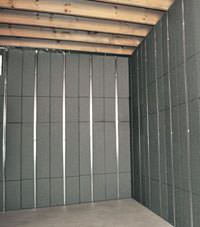 Thermal insulation panels for basement finishing in Colchester, Vermont and New Hampshire