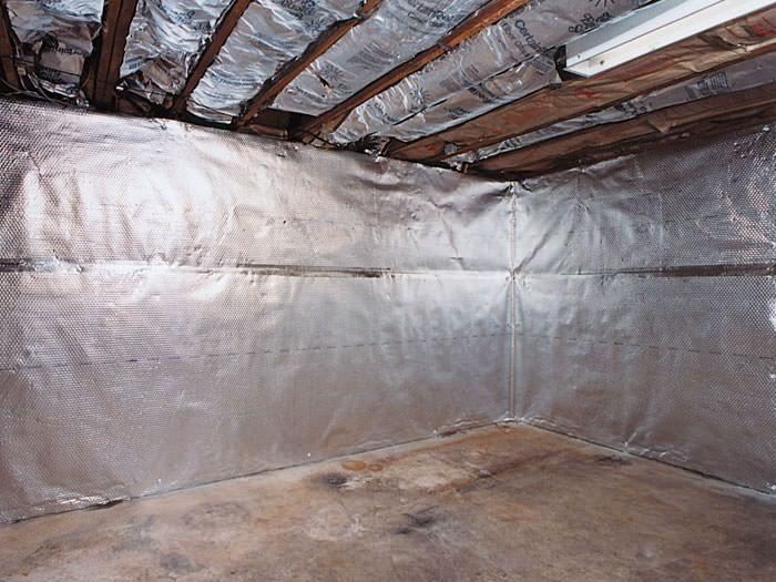 Thermaldry Basement Radiant Wall Barrier For Keene Burlington